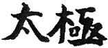 TAI CHI ideogrammes