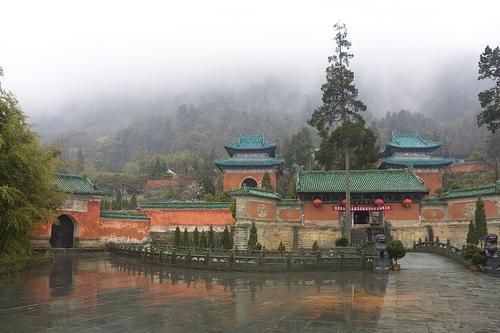 Wudang : le berceau du Taiji